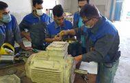 احداث کارگاه برق در کارخانه سیمان کیاسر